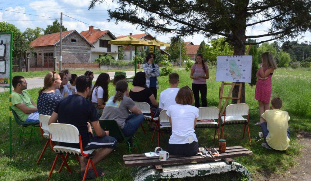 Scambio giovanile in Serbia